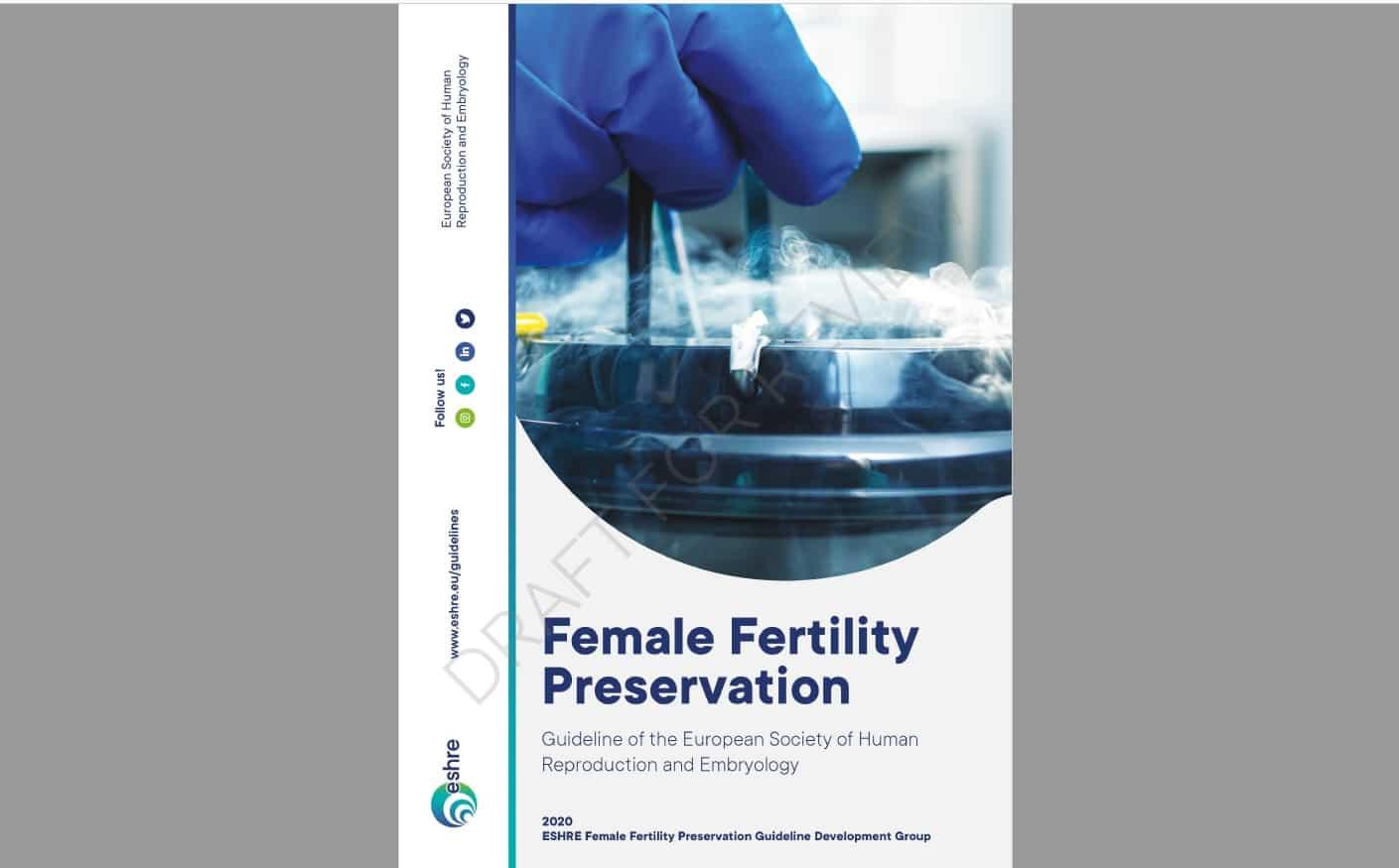 Inovie Fertilité contribue à la rédaction de la première directive pour la préservation de la fertilité féminine